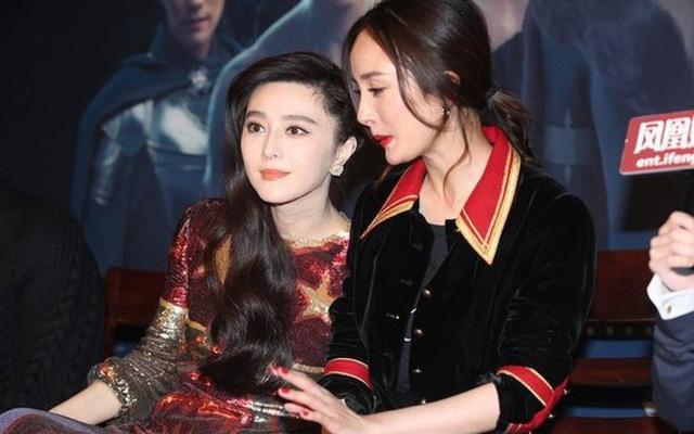 Phạm Băng Băng - Dương Mịch từng là cặp chị em thân thiết trong làng giải trí.