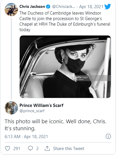 Điều ít biết sau bức ảnh gây bão MXH của Công nương Kate tại tang lễ Hoàng tế Philip 004