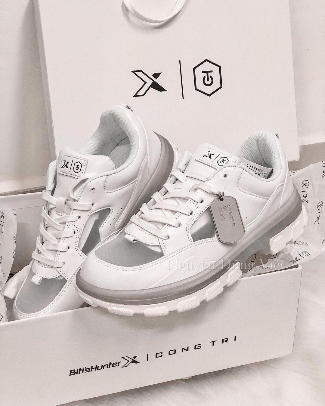 NTK Công Trí bắt tay Bitis Hunter tạo siêu phẩm sneaker mới, có gì hot mà netizen phát cuồng hết cả lên? - Ảnh 2.
