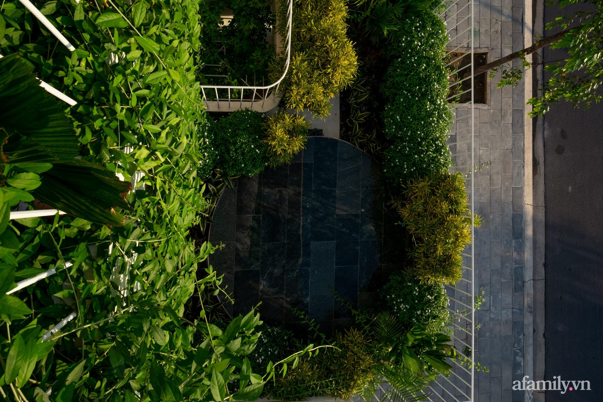 Nhà phố hướng Tây vẫn mát mẻ không cần điều hòa nhờ thiết kế gần gũi với thiên nhiên ở Nha Trang - Ảnh 14.