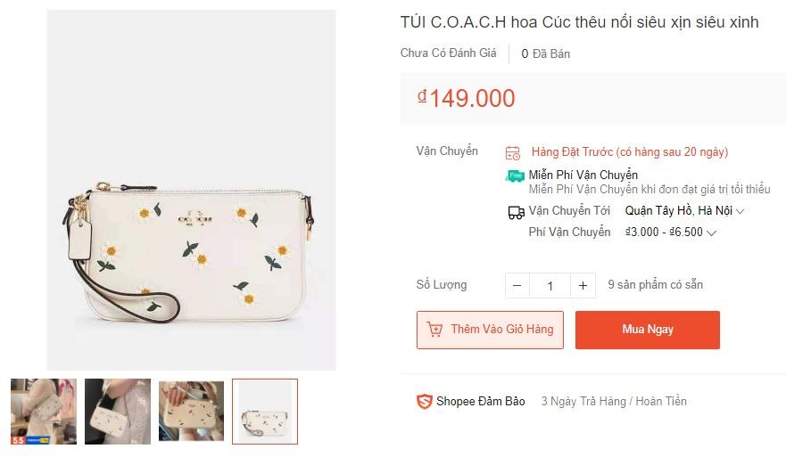 Túi Coach hoa cúc đang hot rần rần, đến hàng fake giá bằng 1/100 giá gốc cũng khiến dân tình phát cuồng - Ảnh 7.