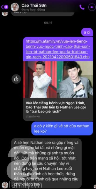 """Bị Nathan Lee gọi là """"trai bao giẻ rách"""", Cao Thái Sơn tuyên bố thẳng điều này, nghe xong không ít người tò mò đợi kết quả  - Ảnh 1."""