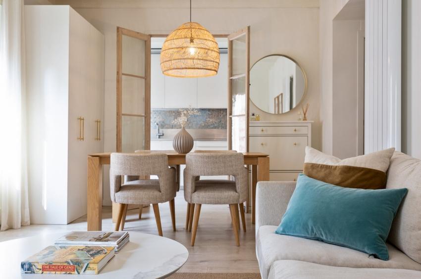 Căn hộ 49m² đẹp sang trọng, ngọt ngào với màu sắc và nội thất thanh lịch - Ảnh 3.