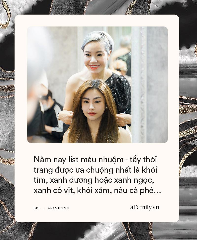 """Hair stylist """"ruột"""" của ca sĩ Bằng Kiều chỉ ra loạt lỗi sai khiến chị em tự làm hỏng tóc tẩy, hướng dẫn cách chăm tóc bóng đẹp mùa hè chỉ với 1,5 triệu đồng - Ảnh 5."""