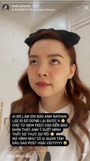 """Cô gái """"vô danh"""" bị chỉ thẳng mặt vì dám yêu cầu Nathan Lee dừng lại là ai? 001"""