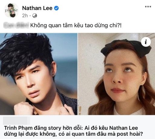 """Cô gái """"vô danh"""" bị chỉ thẳng mặt vì dám yêu cầu Nathan Lee dừng lại là ai? 002"""