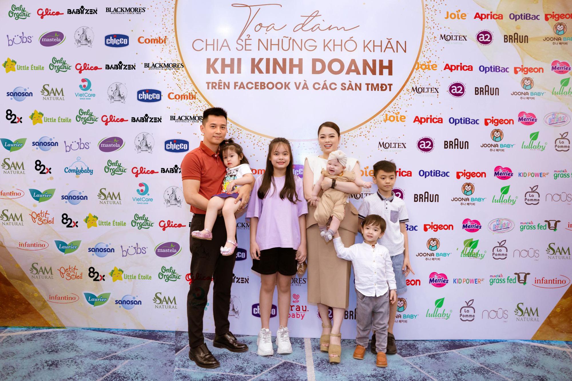 Noo Phước Thịnh bất ngờ xuất hiện cùng Hotmom Hằng Túi tại workshop ngành hàng mẹ bé - Ảnh 5.