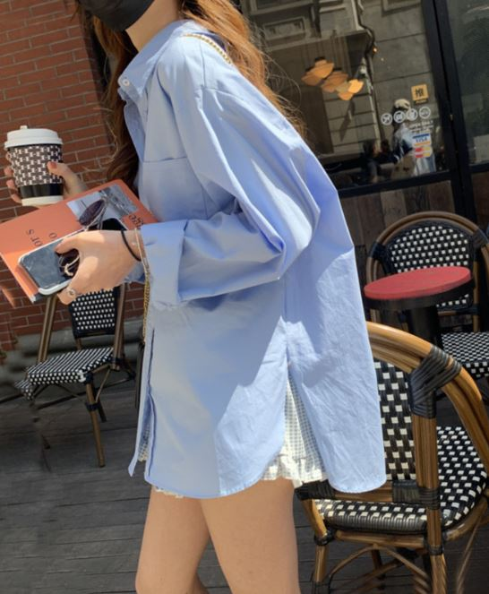 Hot hơn cả sơ mi trắng, chiếc áo màu xanh baby này đang phủ sóng  - Ảnh 21.