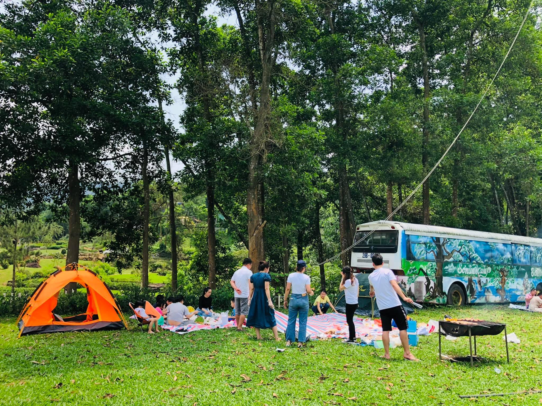 Hà Nội: Mách 3 địa điểm cắm trại cực nổi có dịch vụ trọn gói 2N1Đ cho gia đình 4 người, giá không quá 2 triệu đồng  - Ảnh 4.
