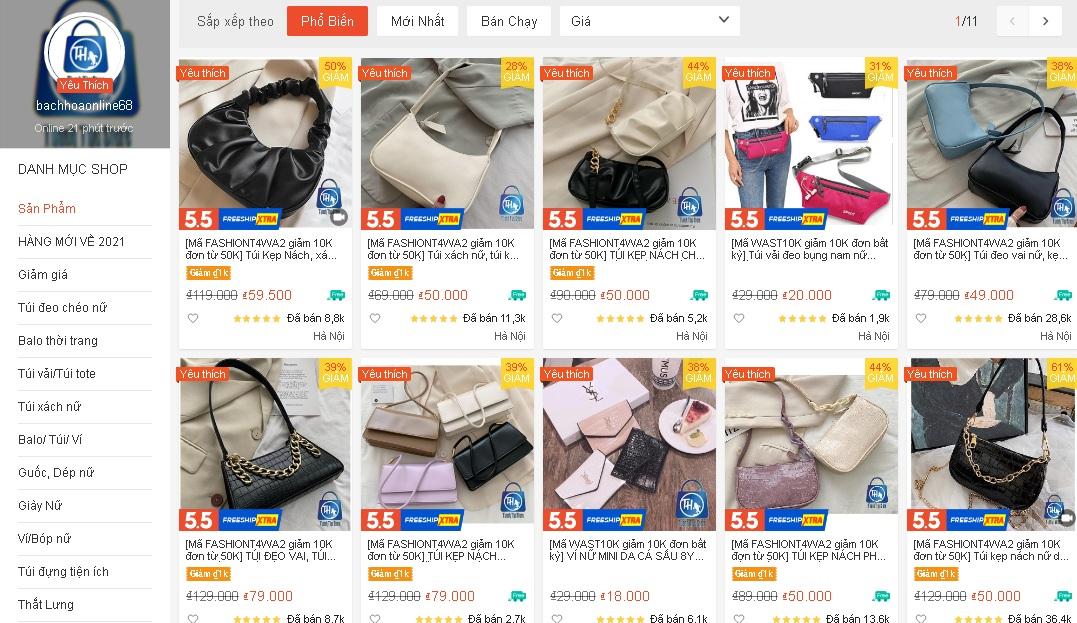 4 shop bán túi cắp nách chỉ từ 30k trên Shopee: Giá rẻ nhưng chất lượng cao, nhận được cả nghìn review tốt - Ảnh 4.