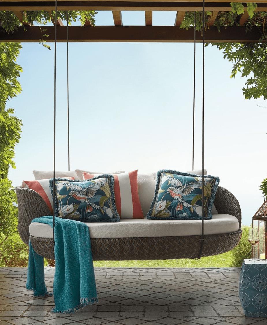 Những ý tưởng hữu ích giúp góc thư giãn ngoài trời mùa hè thêm lãng mạn - Ảnh 3.