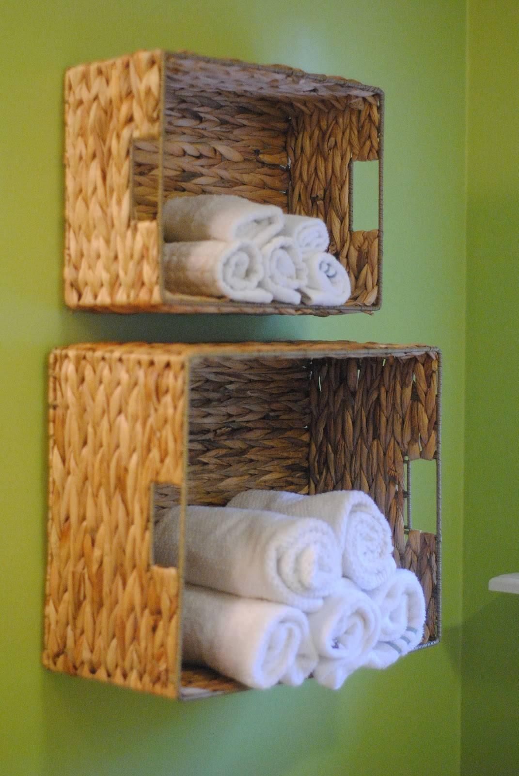 Ý tưởng lưu trữ khăn tắm thông minh giúp không gian vừa gọn gàng vừa sang trọng - Ảnh 4.