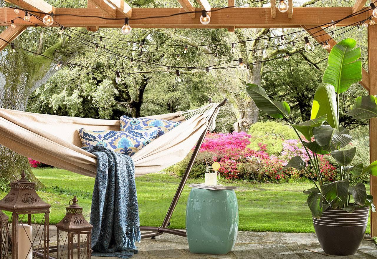 Những ý tưởng hữu ích giúp góc thư giãn ngoài trời mùa hè thêm lãng mạn - Ảnh 5.
