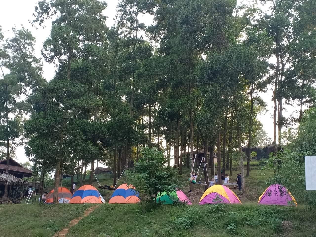 Hà Nội: Mách 3 địa điểm cắm trại cực nổi có dịch vụ trọn gói 2N1Đ cho gia đình 4 người, giá không quá 2 triệu đồng  - Ảnh 7.