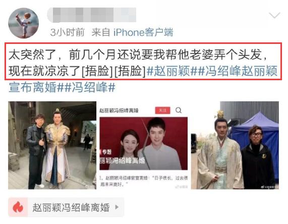 """Người thân cận tiết lộ """"ẩn tình"""" trong vụ ly hôn giữa Phùng Thiệu Phong và Triệu Lệ Dĩnh? - Ảnh 3."""