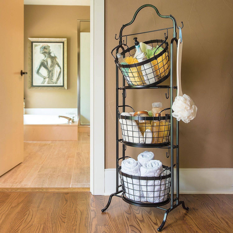 Ý tưởng lưu trữ khăn tắm thông minh giúp không gian vừa gọn gàng vừa sang trọng - Ảnh 6.