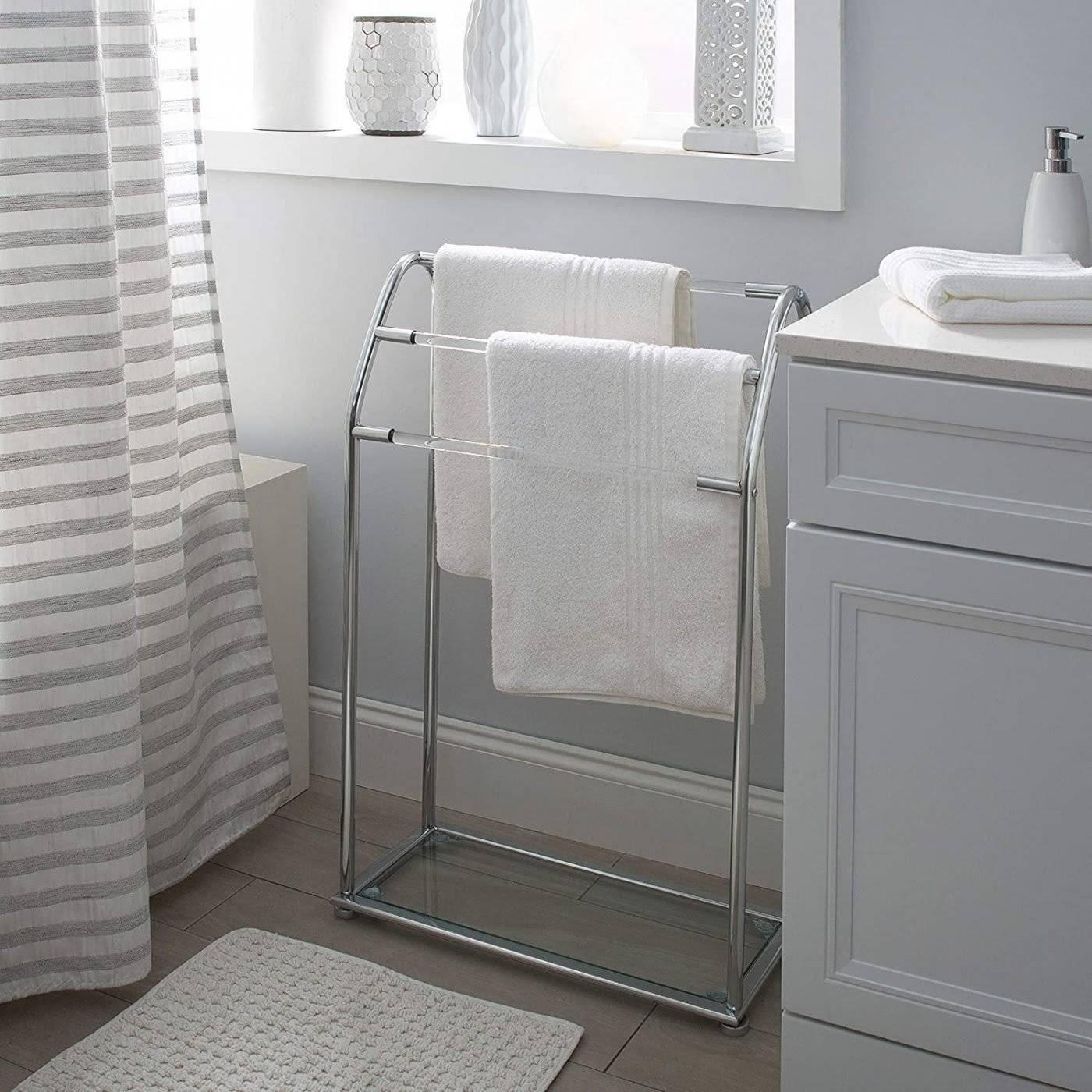 Ý tưởng lưu trữ khăn tắm thông minh giúp không gian vừa gọn gàng vừa sang trọng - Ảnh 8.