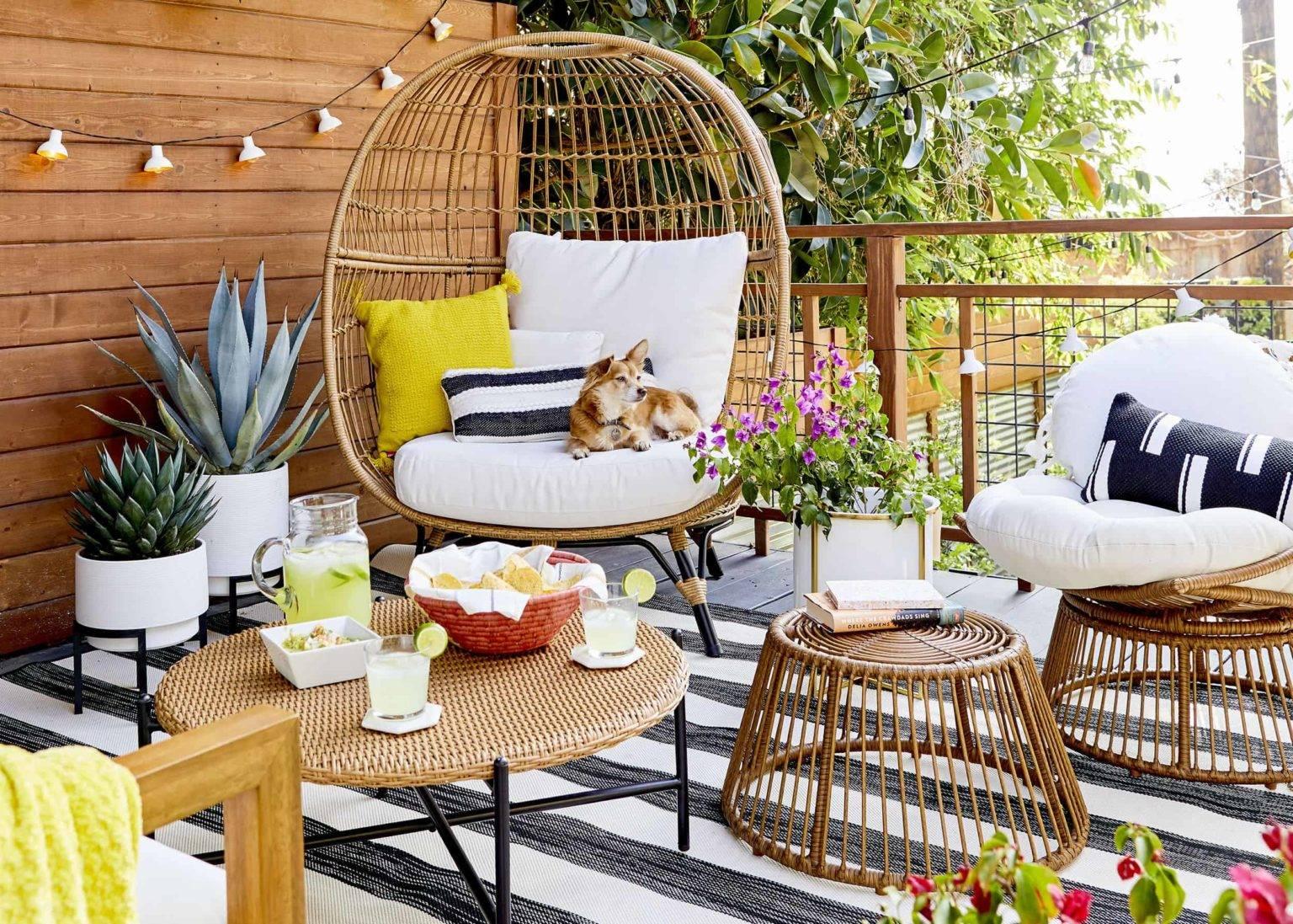 Những ý tưởng hữu ích giúp góc thư giãn ngoài trời mùa hè thêm lãng mạn - Ảnh 9.