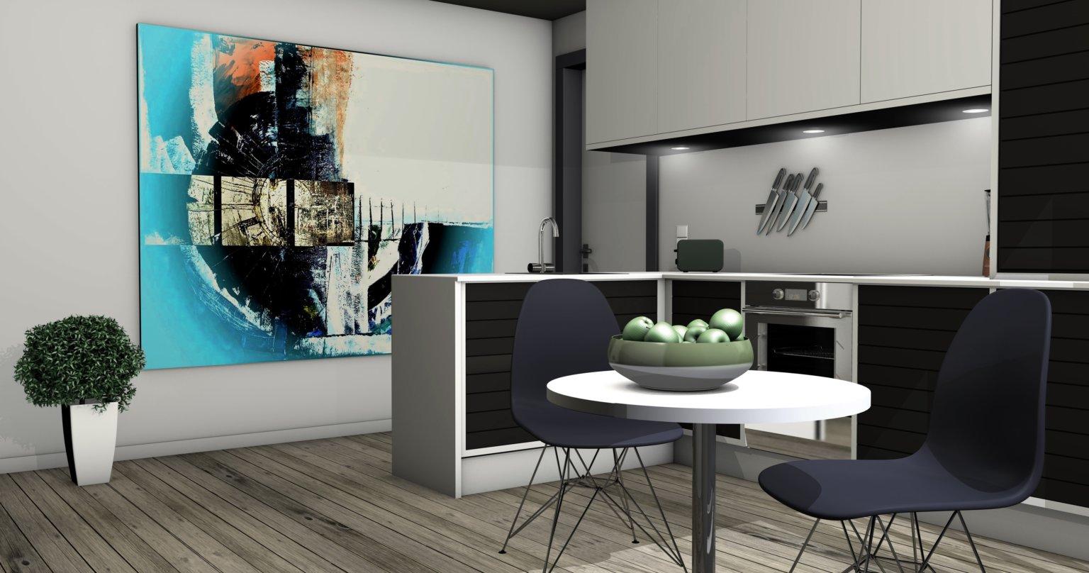 Căn bếp cá tính và cuốn hút nhờ decor tường ấn tượng - Ảnh 10.