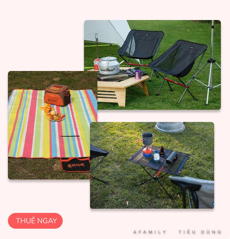 Lên kế hoạch dùng 1 triệu cho gia đình 3 người chi tiêu và thuê đồ cho chuyến camping trong ngày tại Hà Nội - Ảnh 4.
