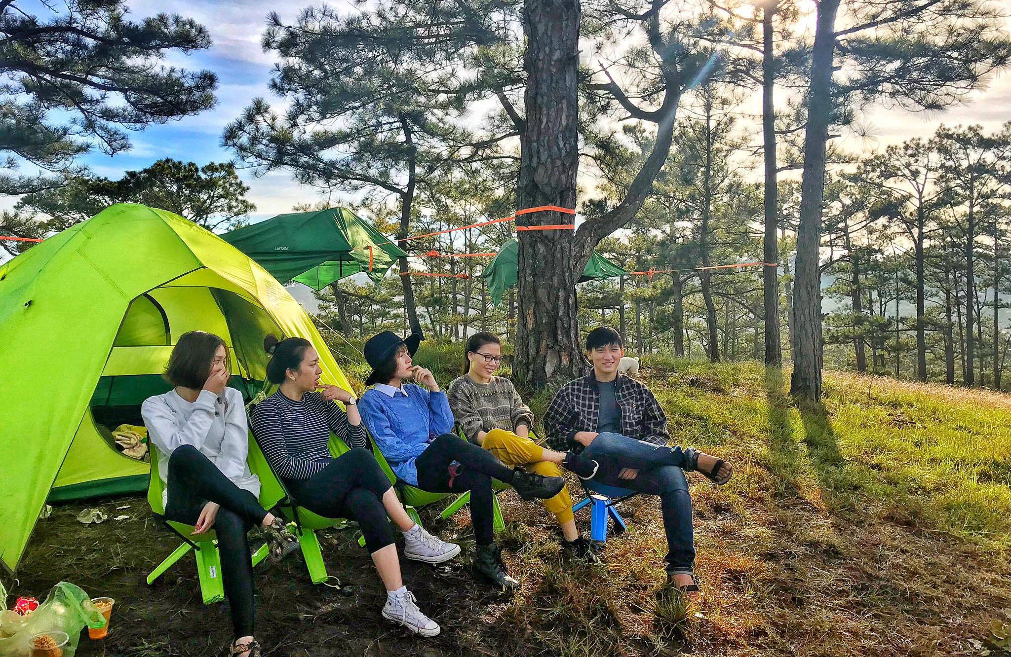 Hà Nội: Mách 3 địa điểm cắm trại cực nổi có dịch vụ trọn gói 2N1Đ cho gia đình 4 người, giá không quá 2 triệu đồng  - Ảnh 8.
