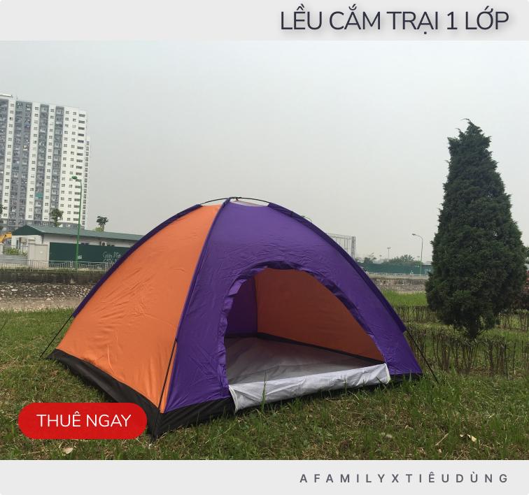 Lên kế hoạch dùng 1 triệu cho gia đình 3 người chi tiêu và thuê đồ cho chuyến camping trong ngày tại Hà Nội - Ảnh 2.