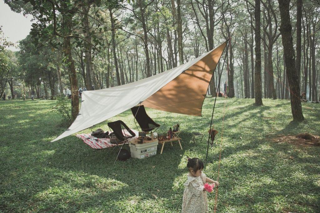 Hà Nội: Mách 3 địa điểm cắm trại cực nổi có dịch vụ trọn gói 2N1Đ cho gia đình 4 người, giá không quá 2 triệu đồng  - Ảnh 9.