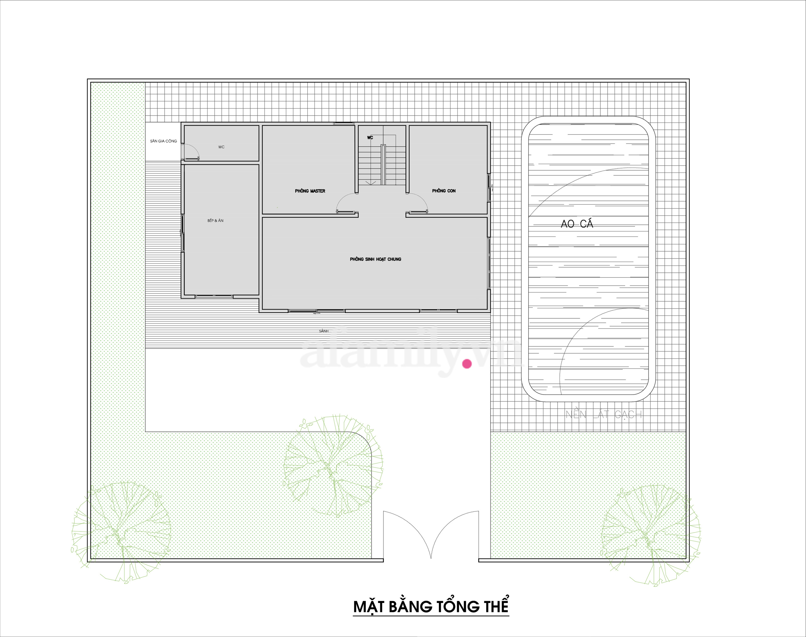 Kiến trúc sư tư vấn thiết kế nhà cấp 4 ở quê diện tích 500m² với chi phí 210 triệu đồng - Ảnh 2.
