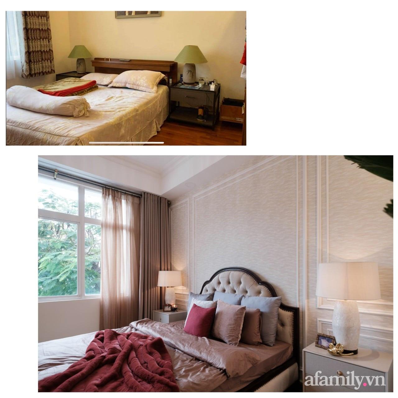 Lột xác phòng ngủ cũ kỹ thành không gian đẳng cấp 5 sao dành cho cặp vợ chồng U70 chỉ trong 2 tuần ở Sài Gòn - Ảnh 2.