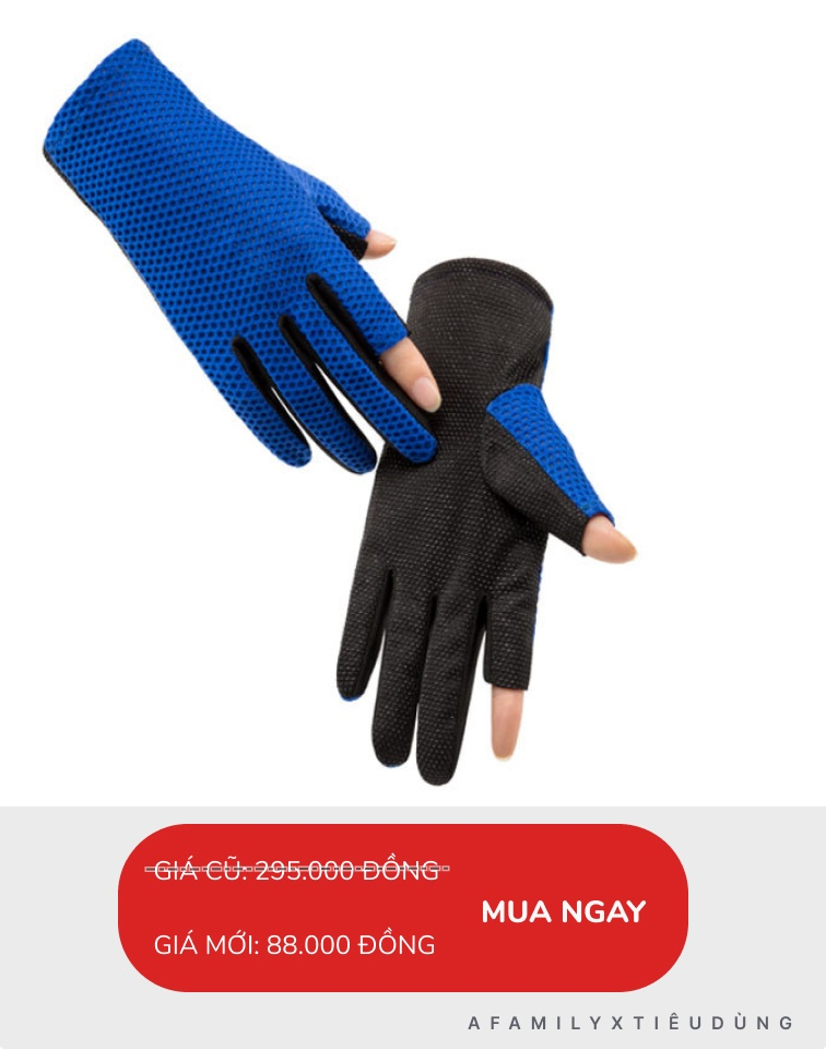 Đồ chống nắng từ đầu đến chân cho chị em: Nhiều món đang sale tới 81%, chỉ 12k mua được găng tay chống nắng xịn - Ảnh 10.