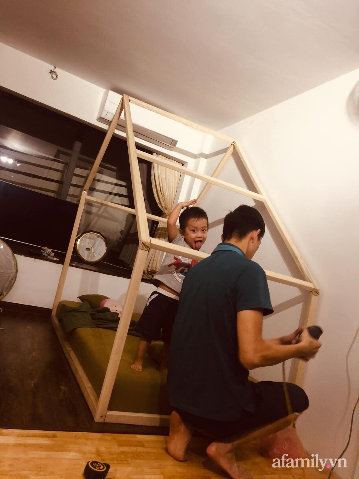 Chán cảnh thuê nhà, vợ chồng trẻ tích cóp tiền cải tạo nhà phố 20m² thành tổ ấm lý tưởng ở Hà Nội - Ảnh 10.
