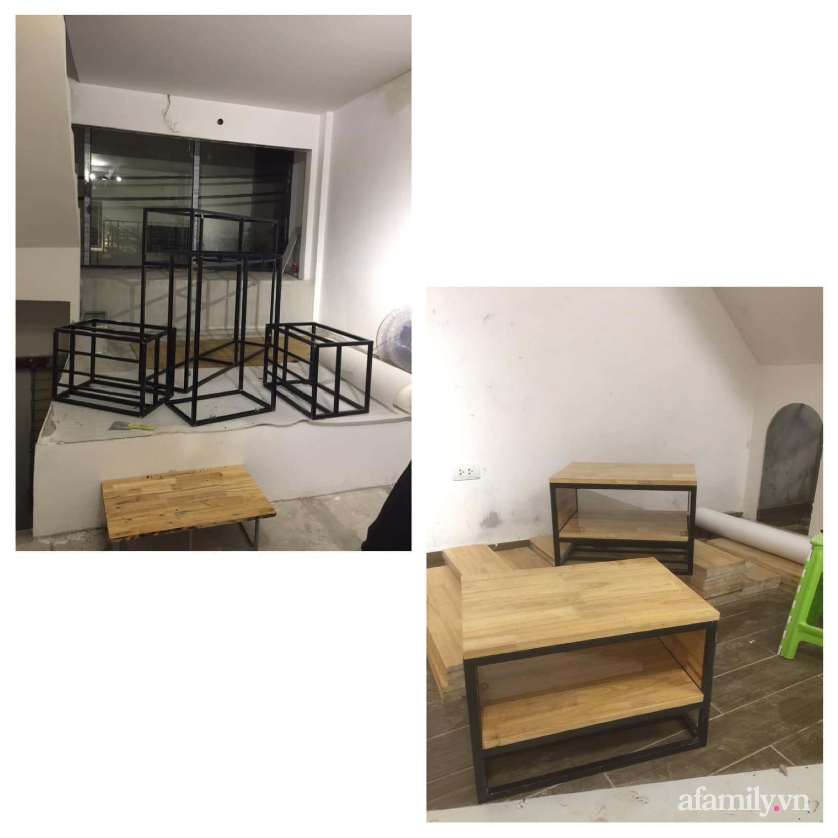 Chán cảnh thuê nhà, vợ chồng trẻ tích cóp tiền cải tạo nhà phố 20m² thành tổ ấm lý tưởng ở Hà Nội - Ảnh 14.
