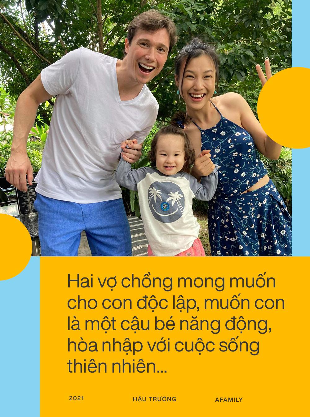 """Hoàng Oanh tiết lộ sau 7 tháng sang Singapore đoàn tụ với chồng Tây: Cuộc sống thay đổi hoàn toàn, """"stress"""" khi lần đầu làm mẹ bỉm sữa - Ảnh 3."""