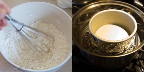 Không cần lò nướng với 4 nguyên liệu bạn có thể làm bánh bông lan lá dứa bất bại - Ảnh 3.