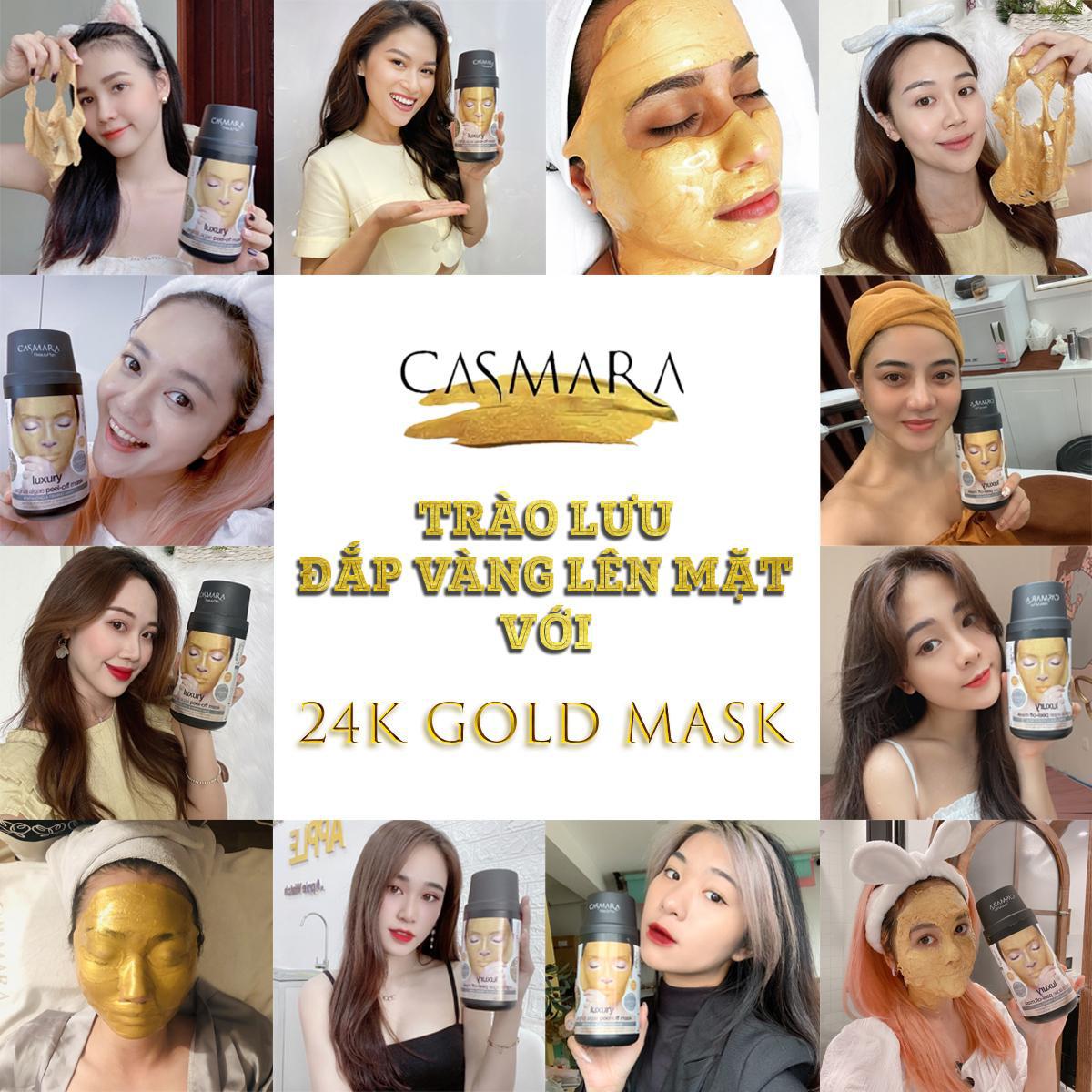 Trào lưu đắp vàng lên mặt và sự thật về mặt nạ Casmara 24K Gold Mask - Ảnh 4.