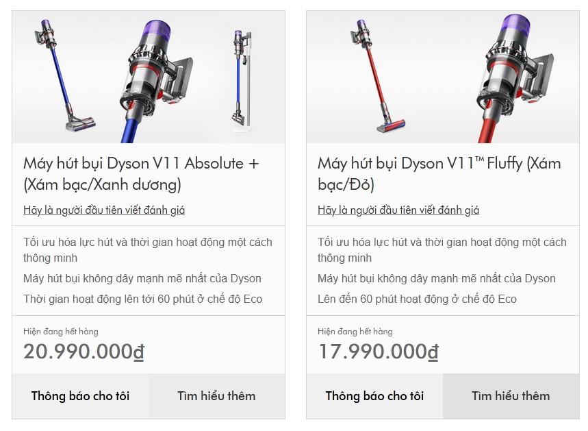Máy hút bụi không dây Dyson giá 21 triệu vừa cập bến Việt Nam đã báo hết hàng, muốn mua cũng khó - Ảnh 1.