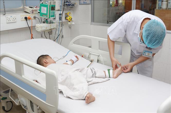 TP Hồ Chí Minh: Gia tăng bệnh nhi mắc tay chân miệng, nhiều ca bệnh nặng - Ảnh 3.