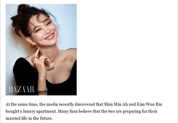 HOT: Kim Woo Bin - Shin Min Ah kết hôn vào năm nay? - Ảnh 3.