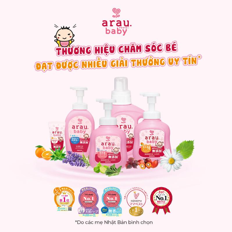 Arau Baby - thương hiệu chăm sóc bé cao cấp đến từ Nhật Bản ra mắt diện mạo mới - Ảnh 2.