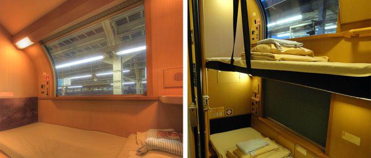 Có gì bên trong chuyến tàu xuyên đêm duy nhất còn sót lại ở Nhật Bản? 004