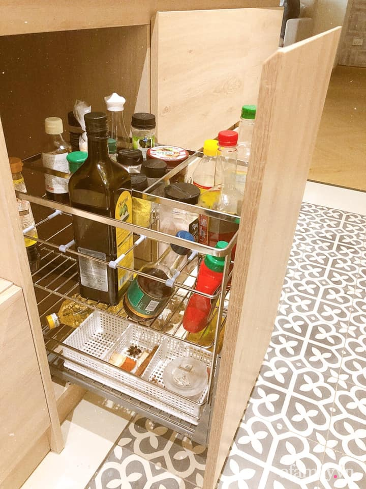 Căn bếp gọn đẹp, ngăn nắp như trong tạp chí nhờ học hỏi bí quyết tối giản của người Nhật - Ảnh 7.