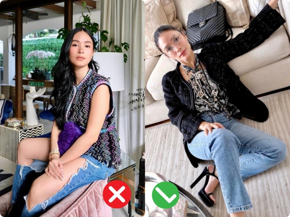 """""""Bạn thân Hà Tăng"""" diện ngay chiếc quần jeans mà dân tình xa lánh, lập lại vết xe đổ từ style thảm họa của Hương Giang, Phượng Chanel - Ảnh 3."""