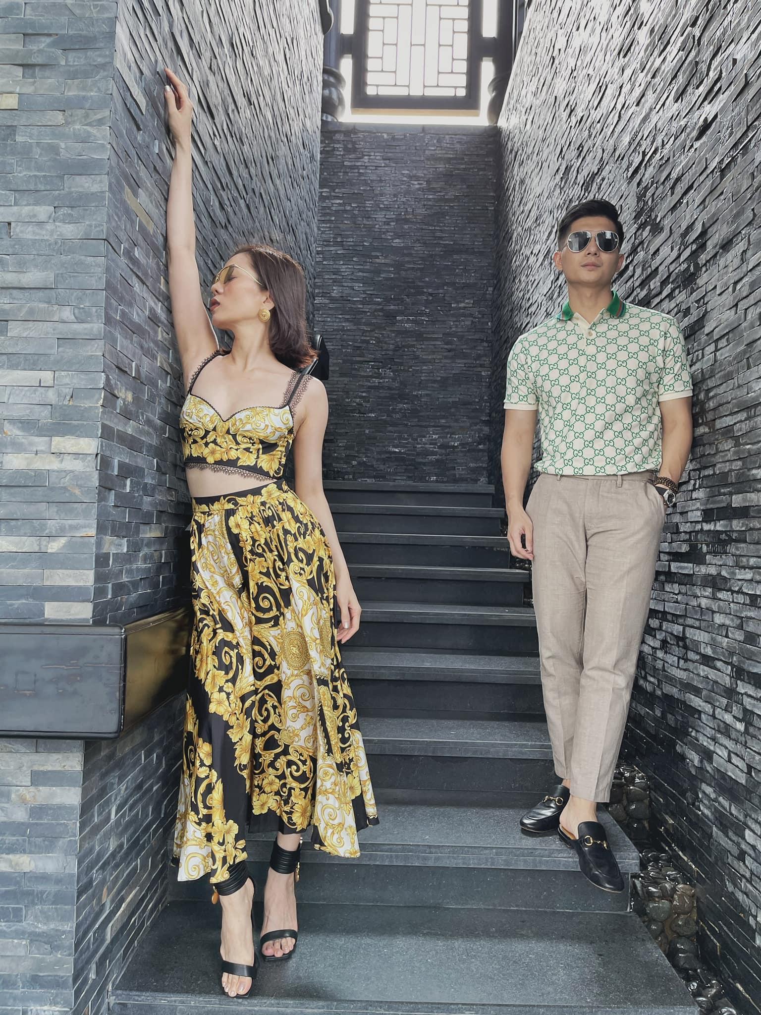 Diện lại áo cũ, Lệ Quyên đụng độ em chồng Hà Tăng nhưng quan trọng là level lên đồ đã thăng cấp tinh tế hơn hẳn - Ảnh 2.