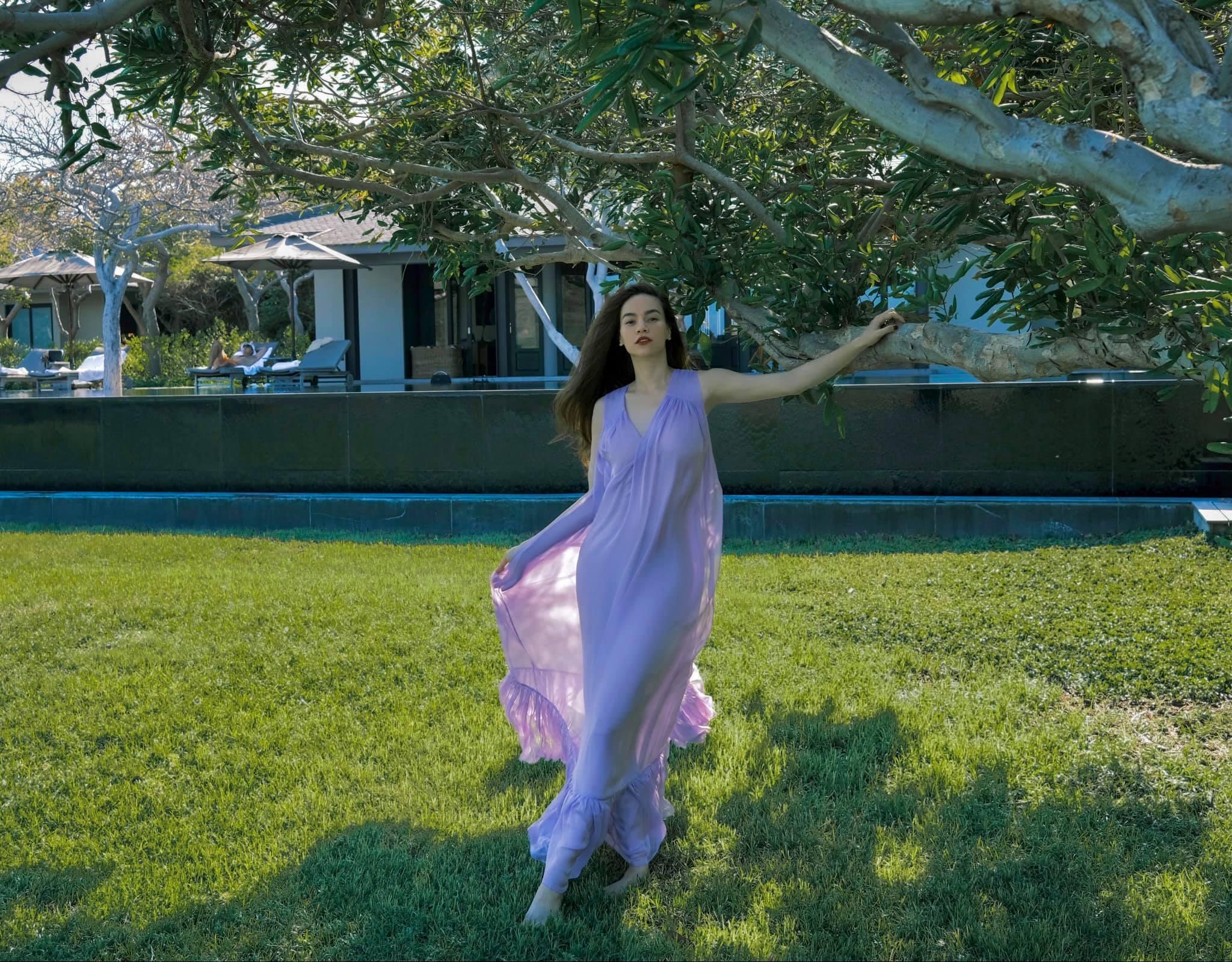 Hà Hồ có cả loạt váy sống ảo đỉnh cao nhờ kiểu váy này, chị em muốn học theo cũng cực dễ - Ảnh 3.