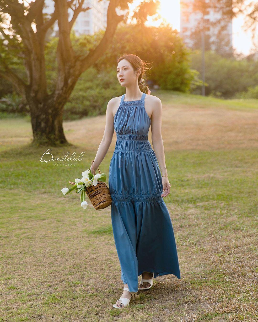 Hà Hồ có cả loạt váy sống ảo đỉnh cao nhờ kiểu váy này, chị em muốn học theo cũng cực dễ - Ảnh 11.