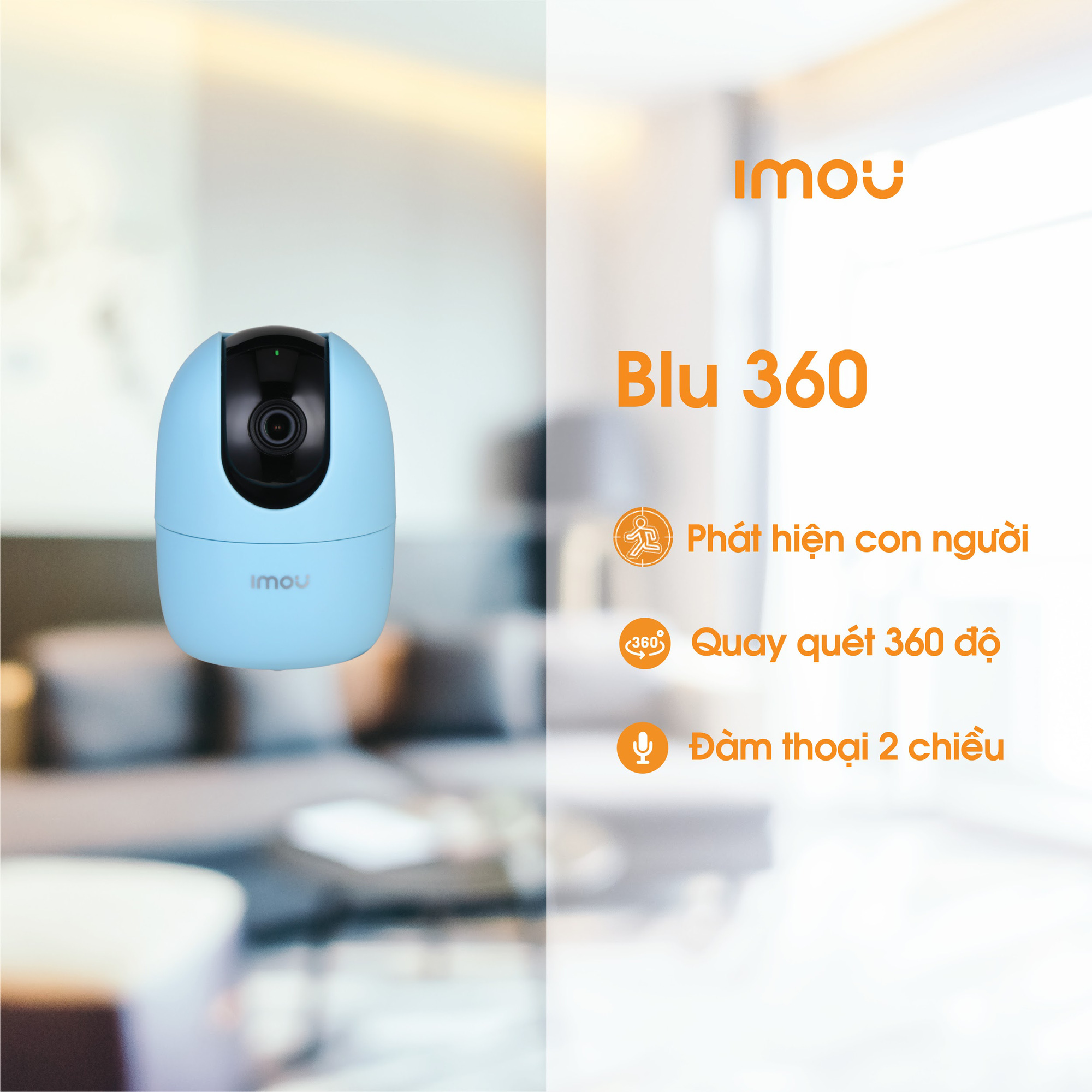 """5 lý do khiến Imou Blu trở thành camera giám sát thông minh """"hot hit dành cho khách hàng trẻ - Ảnh 3."""