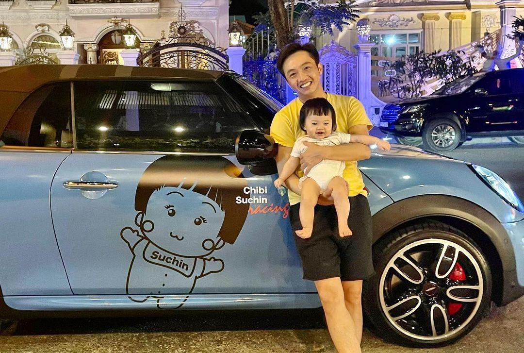 """Cuộc sống """"bỉm sữa"""" của Cường Đô La và Đàm Thu Trang: Đầu tư mạnh tay sắm hàng hiệu cho con gái nhưng cũng có lúc đau đầu vì tiền bỉm sữa - Ảnh 4."""