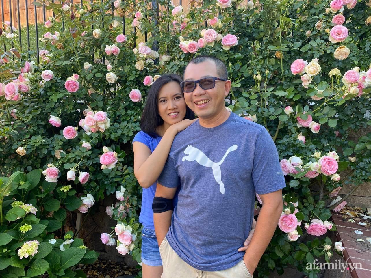 Khu vườn 750m² muôn hoa khoe sắc tỏa hương của mẹ Việt thức đêm chăm cây ở Mỹ - Ảnh 2.