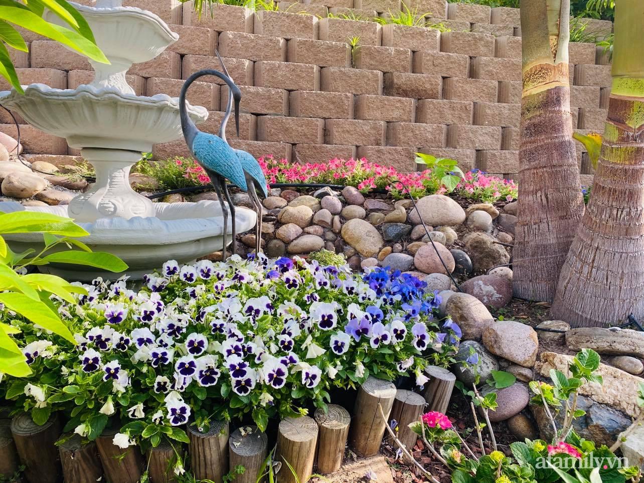 Khu vườn 750m² muôn hoa khoe sắc tỏa hương của mẹ Việt thức đêm chăm cây ở Mỹ - Ảnh 17.