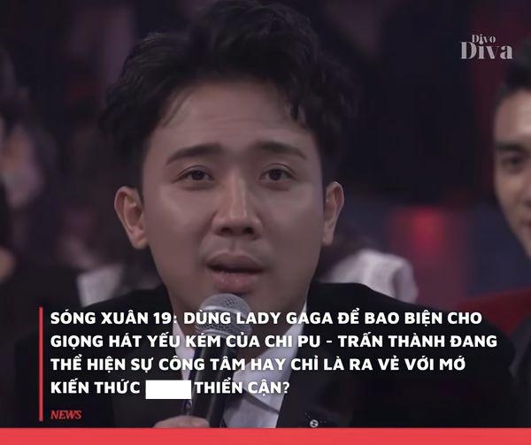 Tranh cãi Trấn Thành dùng Lady Gaga để nói về thành công của Chi Pu, khẳng định không ngạc nhiên nếu nữ ca sĩ xuất khẩu thế giới - Ảnh 4.